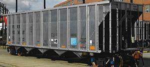 Open Coal Hopper Cars