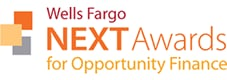 Wells Fargo NEXT Awards for Opportunity Finance logo