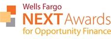 Wells Fargo NEXT Awards for Opportunity Finance logo