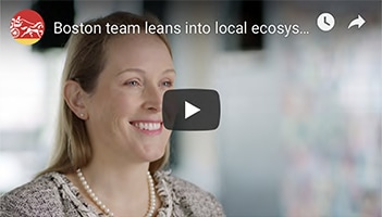 Video: Rebecca Stevenson, Co-Head of Life Sciences, Wells Fargo Healthcare Corporate Banking, shares how our Boston team works to benefit our clients.