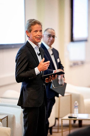 George Doolittle, Wells Fargo - Head of Global Payment Services, opens the conference and welcomes the attendees