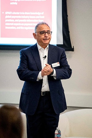 Ashish Sharma, Wells Fargo – COO of Global Payment Services, closes the conference with concluding remarks
