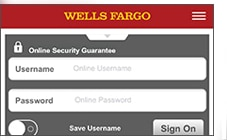 Securely Sign On To The Wells Fargo Mobile You Can Also Call Customer Service At 1 800 869 3557 Request A Code By Phone