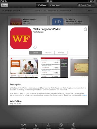 wells fargo bank online