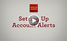Play the account alerts video