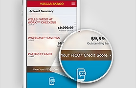 View your FICO Credit Score LINK Desktop view