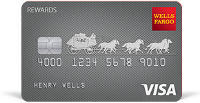 Wells Fargo Rewards Visa Card details