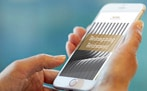 Reimagining Retirement report on phone