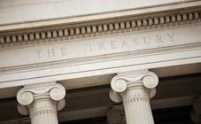 Detail of U.S. Treasury building
